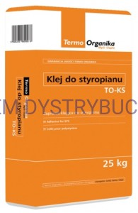 TERMO-ORGANIKA Klej do styropianu TO-KS worek 25 kg.